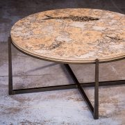 Fossil Coffee Table (Round) 150331001tc 3